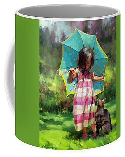 The Teal Umbrella Coffee Mug