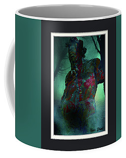 Coffee Mug featuring the photograph The Tempter by Karo Evans