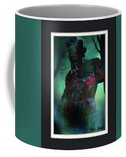The Tempter Coffee Mug by Karo Evans