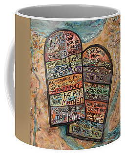The Ten Commandments Coffee Mug