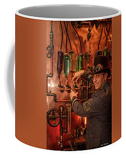 The Tender Steampunk Interior Design 7 Atlanta Man Cave Bar Art Coffee Mug