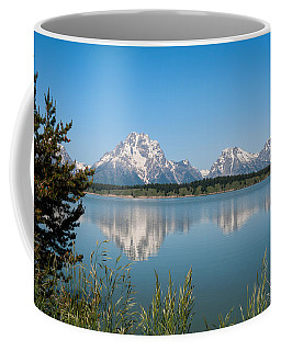 The Tetons On Jackson Lake - Grand Teton National Park Wyoming Coffee Mug