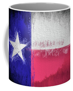 Coffee Mug featuring the photograph The Texas Flag by JC Findley