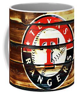 The Texas Rangers 3w Coffee Mug