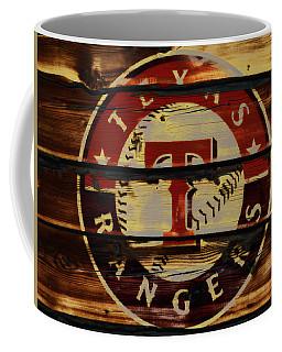The Texas Rangers 4w Coffee Mug