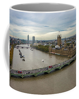 The Thames At Sunset Coffee Mug