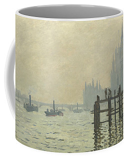 The Thames At Westminster Coffee Mug