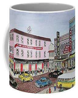 The Theater District Portsmouth Ohio 1948 Coffee Mug