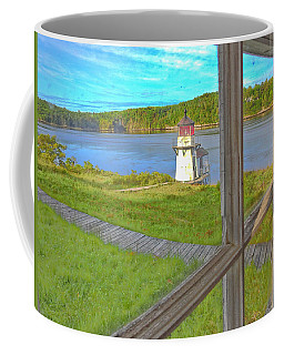 The Thin Line Between Real And Imagined Coffee Mug