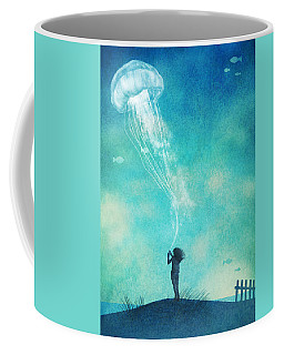 The Thing About Jellyfish Coffee Mug