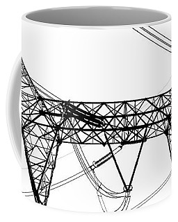 The Thing Above Bw 2 Coffee Mug by Mary Bedy