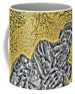 The Thinker - Study #1 Coffee Mug
