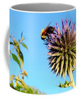 The Thistle And The Bee. Coffee Mug