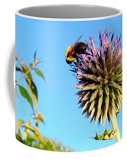 The Thistle And The Bee. Coffee Mug