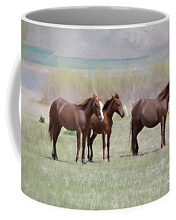 Coffee Mug featuring the photograph The Three Amigos by Benanne Stiens
