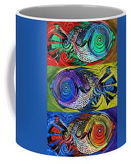 The Three Fishes Coffee Mug