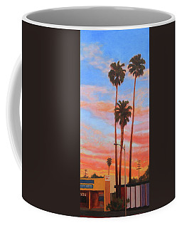 The Three Palms Coffee Mug by Andrew Danielsen