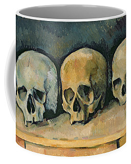 The Three Skulls Coffee Mug