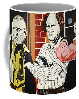 The Three Stooges Coffee Mug by Thomas Blood