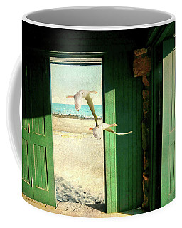 Coffee Mug featuring the photograph The Thruway by Diana Angstadt