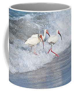 The Tide Of The Ibises Coffee Mug