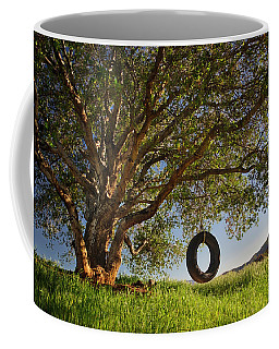 The Tire Swing Coffee Mug by Endre Balogh