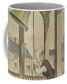 The Tocsin Of Liberty Rung By The State House Bell, Philadelphia On July 4th 1776 Coffee Mug