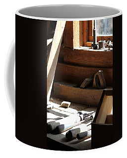 Coffee Mug featuring the photograph The Tools by Laddie Halupa