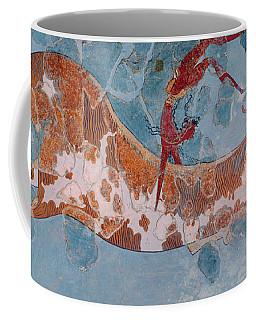 The Toreador Fresco, Knossos Palace, Crete Coffee Mug