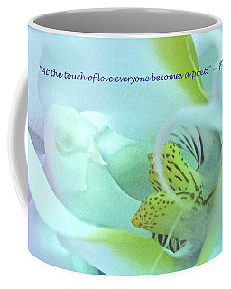 The Touch Of Love Coffee Mug by Venetia Featherstone-Witty
