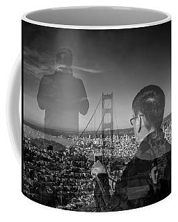 The Tourists - Golden Gate Bridge Coffee Mug
