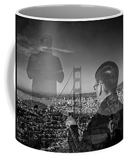 The Tourists - Golden Gate Bridge Coffee Mug