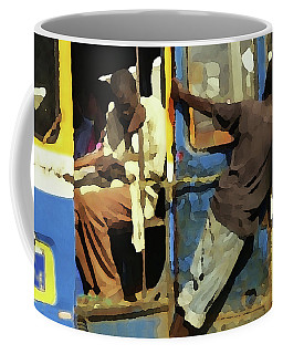 Coffee Mug featuring the photograph The Tout by Wayne King
