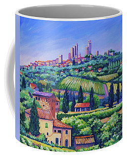 The Towers Of San Gimignano Coffee Mug