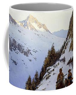 The Trail Over The Pass, 1910 Coffee Mug