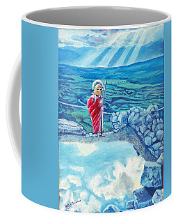 The Transcending Spartan Soldier Coffee Mug