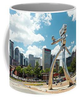 The Traveling Man Dallas 080618 Coffee Mug