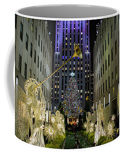 The Tree At Rockefeller Plaza Coffee Mug