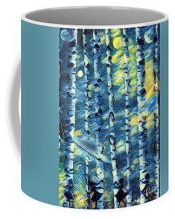 The Tree Children Coffee Mug by Vennie Kocsis
