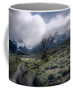 The Tree In The Wind Coffee Mug by Andrew Matwijec