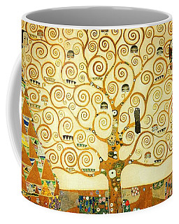 The Tree Of Life Coffee Mug by Gustav Klimt