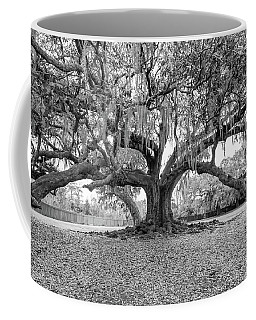 The Tree Of Life Monochrome Coffee Mug