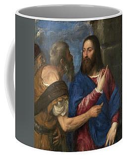 The Tribute Money Coffee Mug