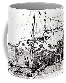 The Trinity  Port Ellen  Isle Of Islay Coffee Mug
