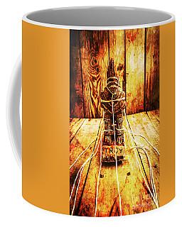 The Trojan War Statuette  Coffee Mug