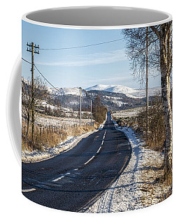 The Trossachs National Park In Scotland Coffee Mug