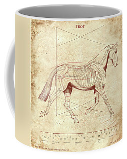 The Trot - The Horse's Trot Revealed Coffee Mug
