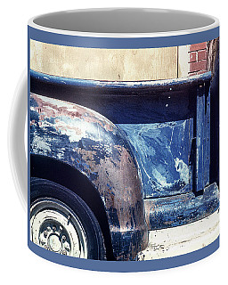 The Truck In Abstract Paint Coffee Mug
