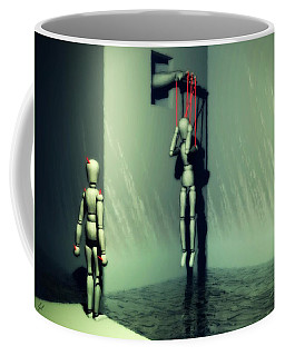 The Truthsayer Meets Denial Coffee Mug