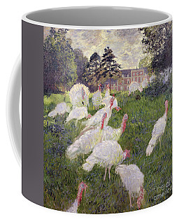 The Turkeys At The Chateau De Rottembourg Coffee Mug
